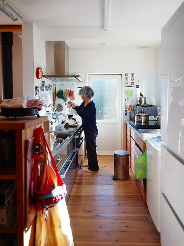 2列型の使いやすいキッチン