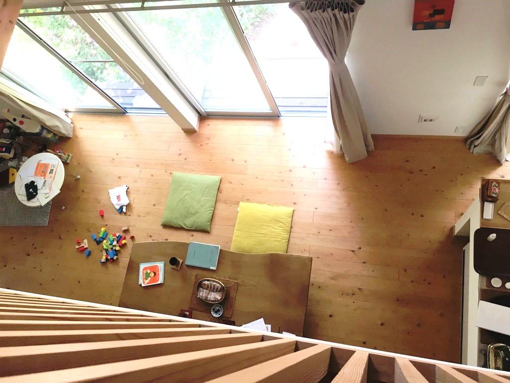 無垢フローリングの自然素材の家