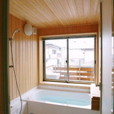 ヒノキのお風呂