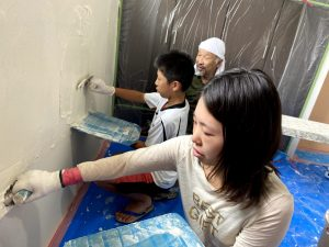 漆喰DIY