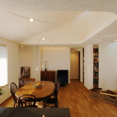 漆喰の部屋